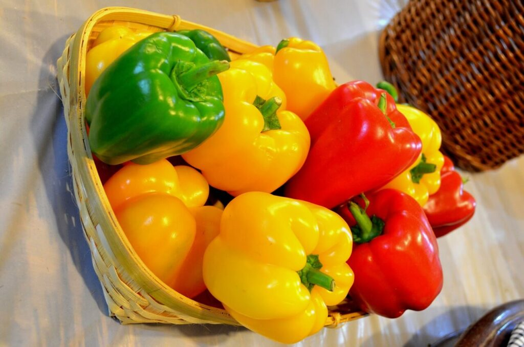 How to Store Bell Peppers
